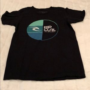 RIP CURL surf sleeve t shirt men's size small